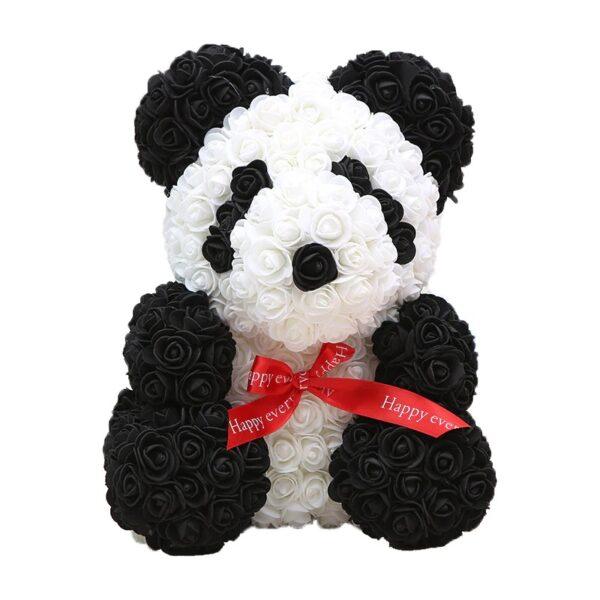 Ours en rose panda 40 cm