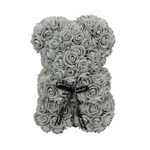 Ours en rose éternelle gris