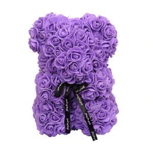 Ours en rose violette