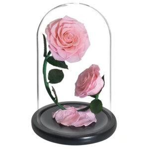 roses artificielles roses