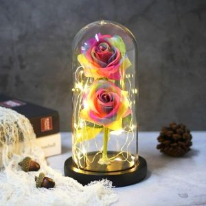 Fleur Artificielle Multicolore