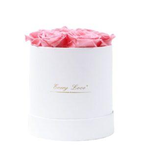 la boite à fleur - Boite rose éternelle rose
