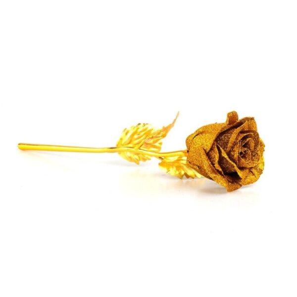 Rose doré - Rose éternelle or