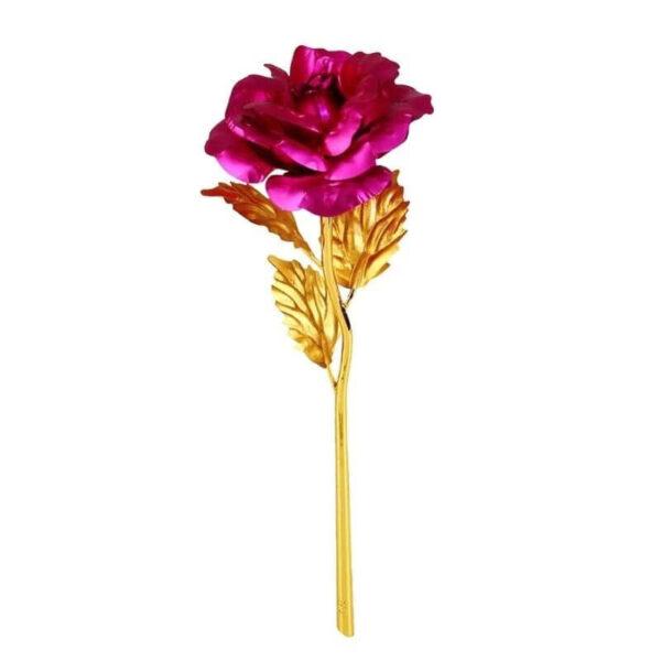 Rose en Or 24 carats - Rose éternelle en or rose