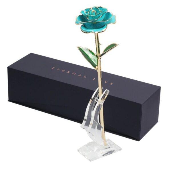 Rose en Or 24k - Rose éternelle or