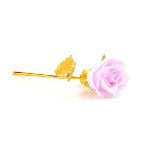 Rose éternelle en or Rose - Rose éternelle or