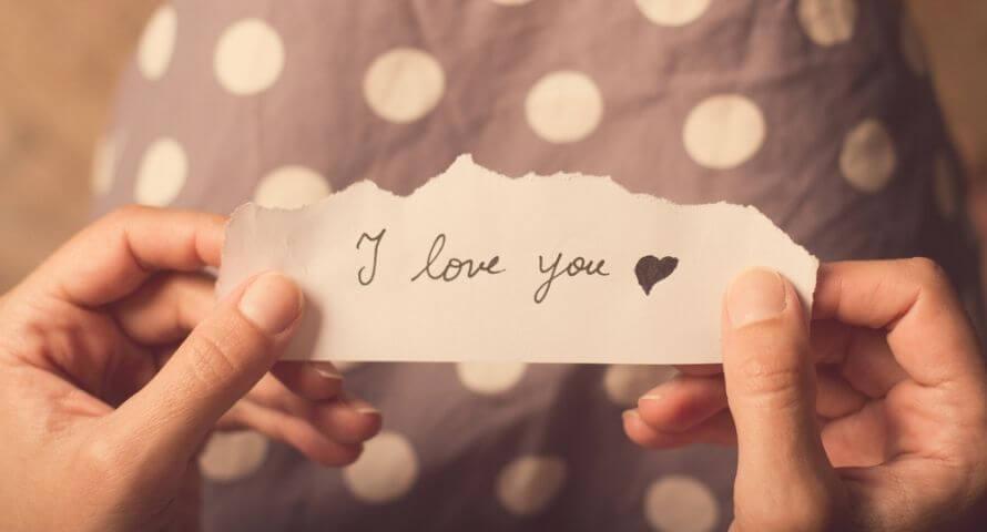 Message pour dire je t'aime